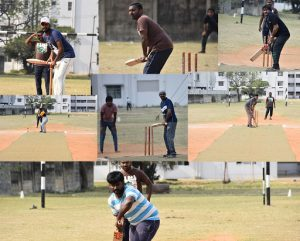 Cricket match between Transformers and Aventures team