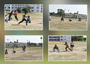 Kho-Kho Match between Aventures and Transformers team