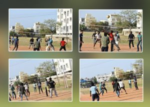 Volley ball Match between Aventures and Transformers team