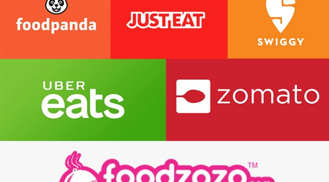 The top food delivery apps in India