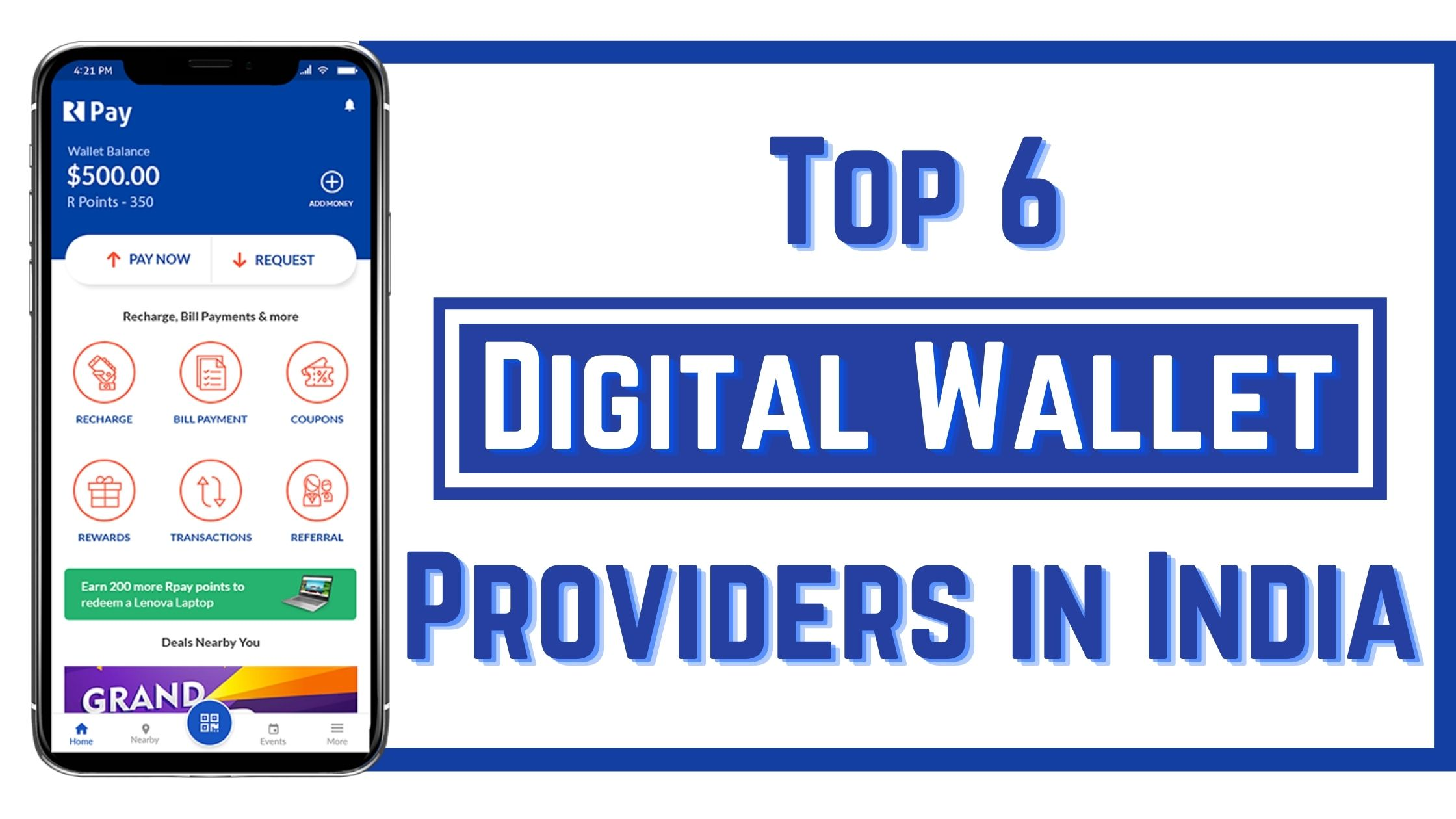 Top 6 Digital Wallet Providers in India