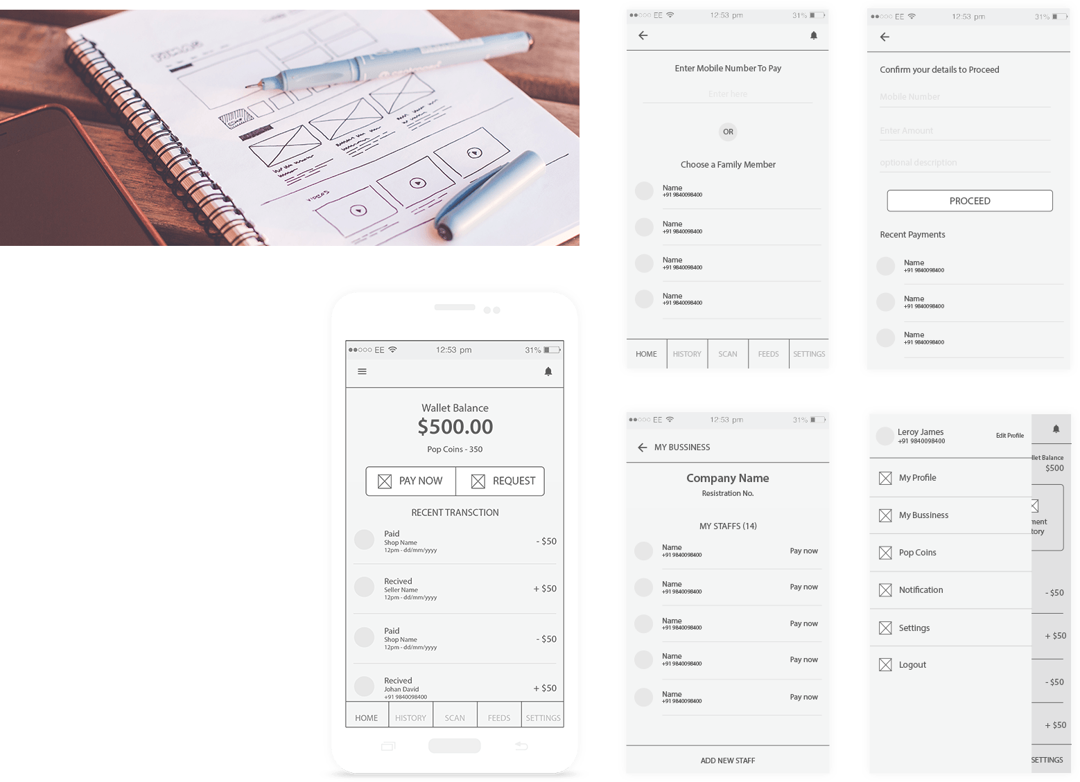 Wireframes and Prototyping
